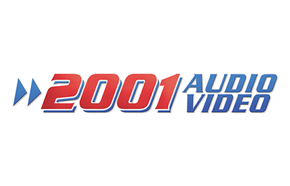 2001 Audio Video logo