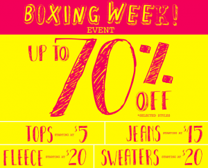garage-boxing-day-sale