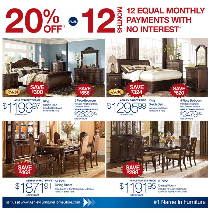 Ashley Furniture Canada Boxing Day Sale