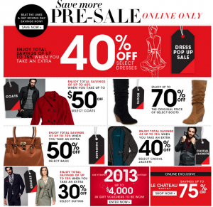 le-chateau-boxing-day-sale