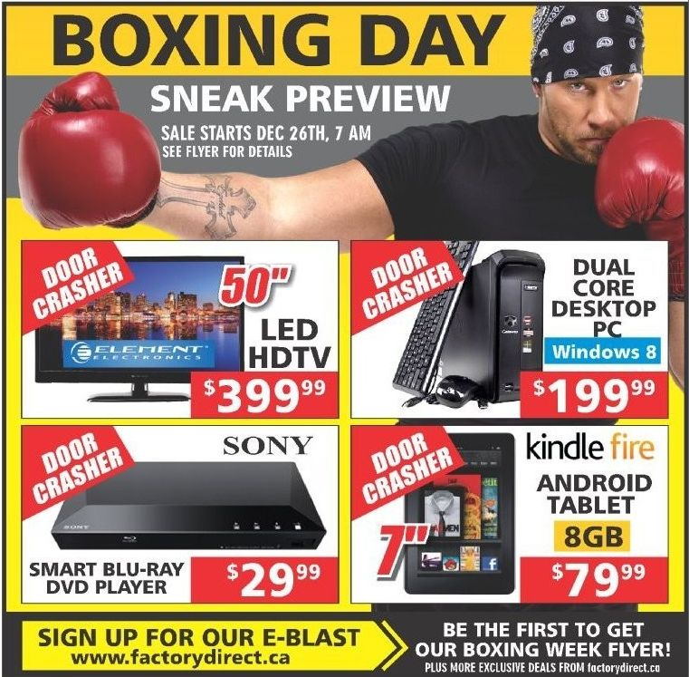 EB Games has officially revealed its Boxing Day deals, offering savings of $30 to $4o on many major releases. Below is a rundown of some of the best deals featured in the retailer's Boxing Day flyer.