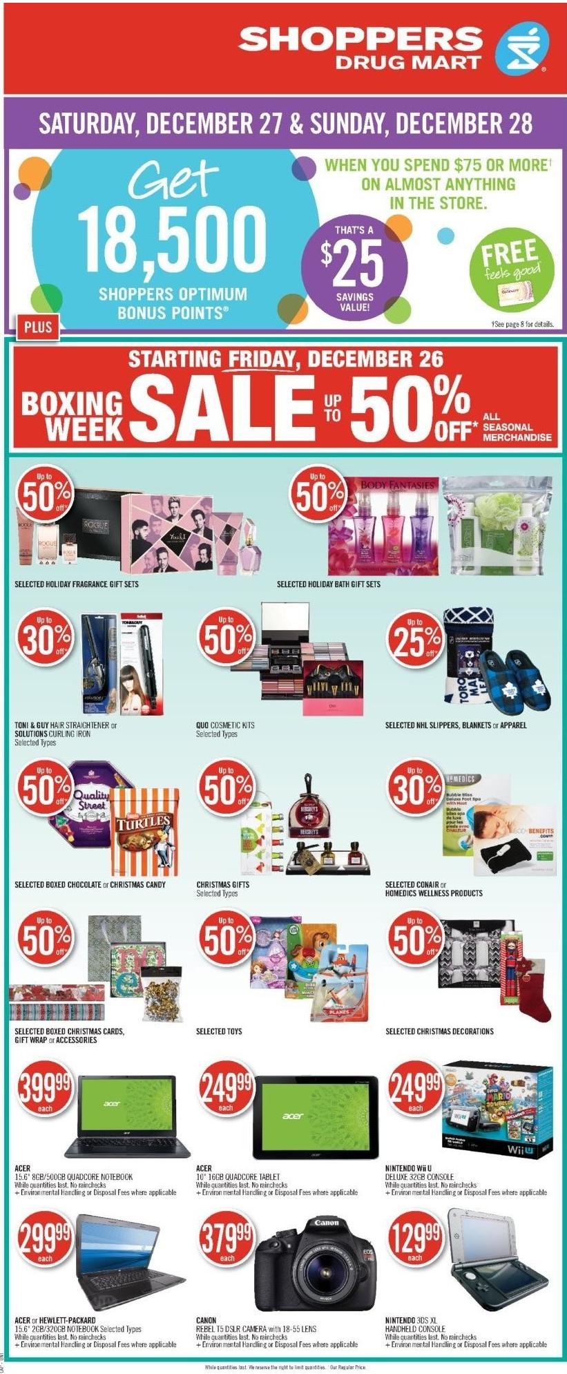 Next Week Shoppers Drug Mart Flyer Online – Canadian Store Flyers Check out your favorite online flyers, your favorite stores, updated regularly for you to browse easily. Find all the specials & deals for shoppers drug mart in the next week flyer below.