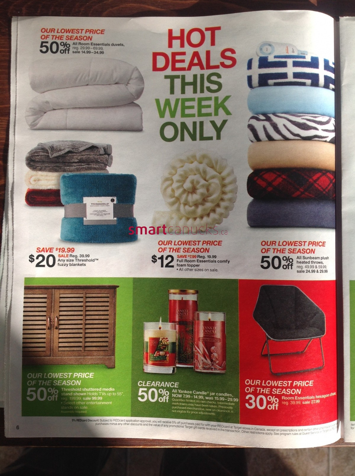 Target Canada Boxing Day Amp Boxing Week Flyer 2014 Boxing